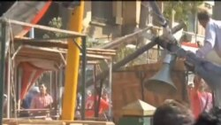 2012-10-13 美國之音視頻新聞: 埃及總統的支持者和反對者發生衝突