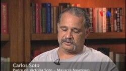"""Carlos Soto: """"Mi hija murió como un héroe"""""""