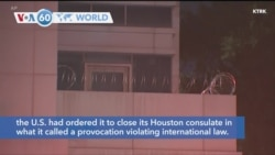 VOA60 World - China said Wednesday that the U.S. had ordered it to close its Houston consulate