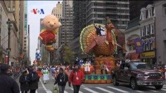 Perayaan Thanksgiving di AS