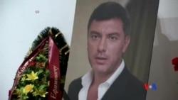 2015-03-03 美國之音視頻新聞: 涅姆佐夫追悼儀式星期二在莫斯科舉行