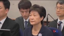 2017-05-23 美國之音視頻新聞: 南韓開庭審訊前總統朴槿惠貪腐案 (粵語)