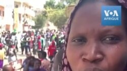 Libération d'Ousmane Sonko: réactions des manifestants
