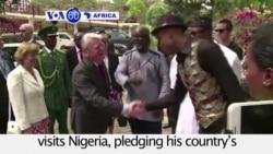 VOA60 Africa - German President Joachim Gauck visits Nigeria