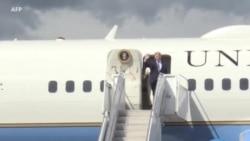 Débarquement : Donald Trump arrive en Normandie