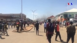 Protests Against the Nigerian Police Cause Destruction in Jos, Nigeria