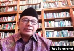 Menteri Agama 2014-2019, Lukman Hakim Saifuddin. (Foto: screenshot)