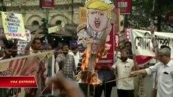 Ông Trump thăm Ấn Độ: Người hân hoan, kẻ giận dữ