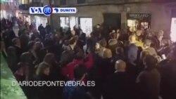 VOA60 DUNIYA: An Naushi Prime Ministan Spain a Wajen Wani Taron Siyasa a Yankin sa na Galicia, Disamba 17, 2015