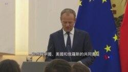 2018-07-16 美國之音視頻新聞: 歐盟呼籲美中俄與歐盟合作改革國際貿易規則