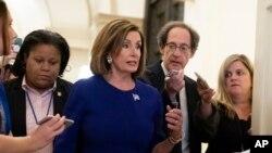 ေအာက္လႊတ္ေတာ္ ဥကၠဌ ဒီမိုကရက္ လႊတ္ေတာ္ အမတ္ Nancy Pelosi