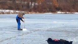 شدید سردی: کئی مقامات پر چشمے، جھیل، تالاب جم گئے