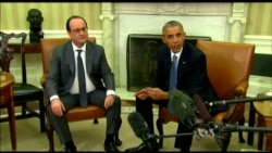 Obama, Hollande Discuss Tight Cooperation After Paris Attacks