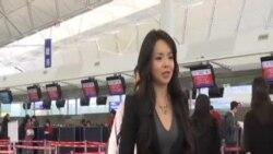 """加拿大華裔世界小姐林耶凡""""落地簽證""""遭拒滯留香港"""