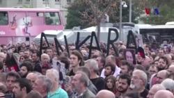 Ankara Saldırısının Yıldönümünde Kadıköy'de Anma Töreni