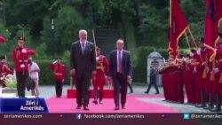 Kryeministri i Kosovës Abdullah Hoti vizitoi Shqipërinë