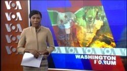 Washington Forum du 12 novembre 2015 : la crise au Burundi