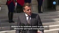 Macron'dan Türkiye'ye Yaptırım Çağrısı