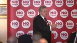 موافقان و مخالفان استقلال اسکاتلند از بریتانیا