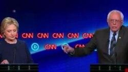 美國民主黨總統參選人舉行辯論會