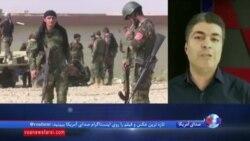 گزارش علی جوانمردی از درگیری نیروهای عراقی و پیشمرگههای کرد