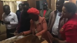 MDC Alliance Activists Counting Postal Votes ...