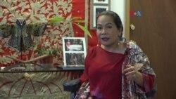 Nuri Auger Kenalkan Indonesia Melalui Kebaya dan Makanan di Amerika