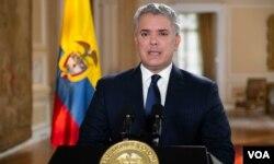 El presidente Iván Duque hizo una férrea defensa de su mentor, Álvaro Uribe. [Fuente: Presidencia de la República de Colombia]