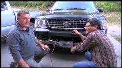 Alat Pemanas Mobil di Alaska