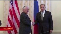 Tillerson, Trump 'không vui' về lệnh trừng phạt Nga