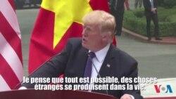 """Trump : une amitié avec le leader nord-coréen est """"possible"""" (vidéo)"""