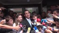 委內瑞拉反對派領導人指責安全人員威脅其家人