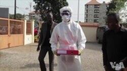 埃博拉疫苗试验在西非进行