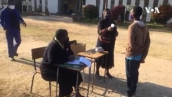 Schools Exams Start in Zimbabwe