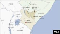 Wajir, Marsabit and Mandera counties