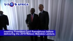 VOA60 Africa - Former President Obama: 'Denial of Facts' Could Spell End to Democracy