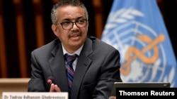 Tổng giám đốc Tổ chức Y tế Thế giới (WHO) Tedros Adhanom Ghebreyesus