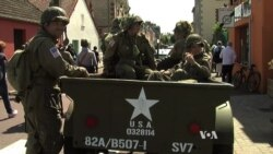 D-Day Visitors Re-Enact WWII Events Across Normandy