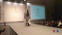Moskva moda ko'rgazmasida o'zbek liboslari