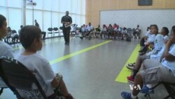 Police, Kids, Bond at Summer Camps