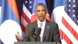 """奧巴馬:美國在亞太的利益反映""""國家根本利益"""""""