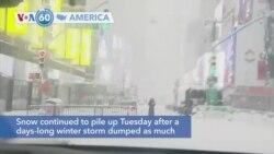 VOA60 Ameerikaa - Major Snowstorm Hits US Northeast