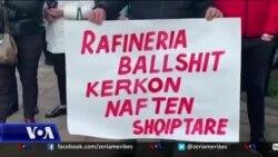 Protesta e punëtorëve të rafinerisë së Ballshit