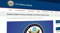 Сенатори США відвідають Україну, Литву та Грузію. Відео