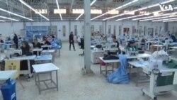 İraqda qadınların çalışdığı fabrik