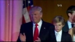 Donald Trump est élu président des Etats-Unis
