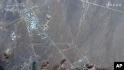 Cупутникове фото Maxar Technologies показує іранський ядерний майданчик Фордо.