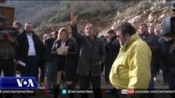 Protesta kundër ndotjeve nga guroret në Postribë