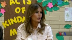 Президент Трамп розповів про прихований зміст напису на куртці Меланії. Відео