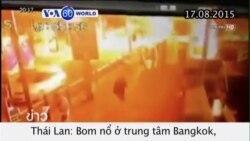 Nổ bom tại Thái Lan, ít nhất 19 người thiệt mạng (VOA60)